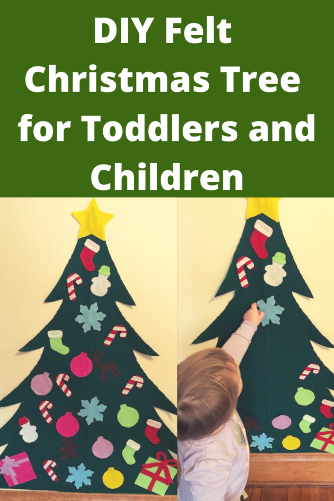 Diy Felt Christmas Tree For Toddlers And Children Continually Learning